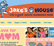 Jake's House Retail Website